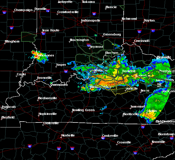 Radar Image for Severe Thunderstorms near Willisburg, KY at 7/14/2015 5:34 AM EDT