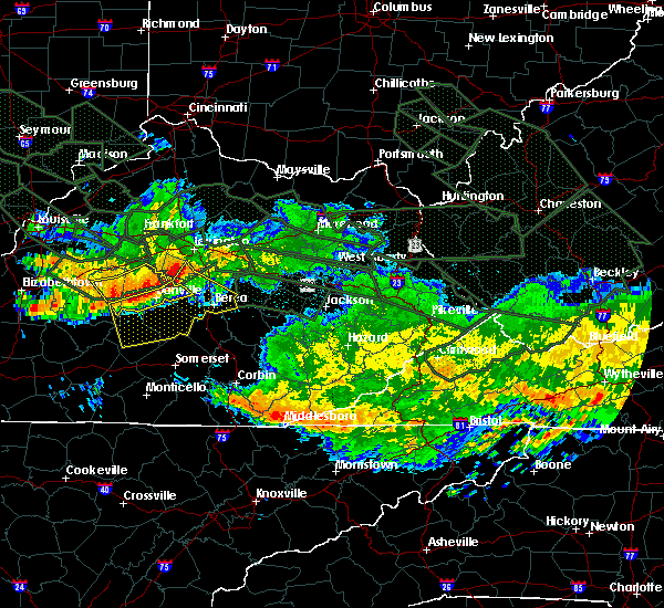 Radar Image for Severe Thunderstorms near Danville, KY at 7/14/2015 5:52 AM EDT