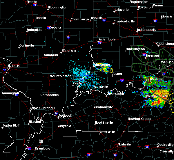 Radar Image for Severe Thunderstorms near Alfordsville, IN at 7/14/2015 6:00 AM EDT