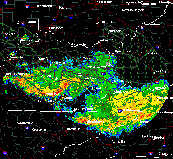 Radar Image for Severe Thunderstorms near Barbourville, KY at 7/14/2015 6:44 AM EDT