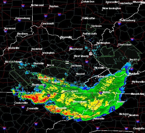 Radar Image for Severe Thunderstorms near Science Hill, KY at 7/14/2015 9:13 AM EDT