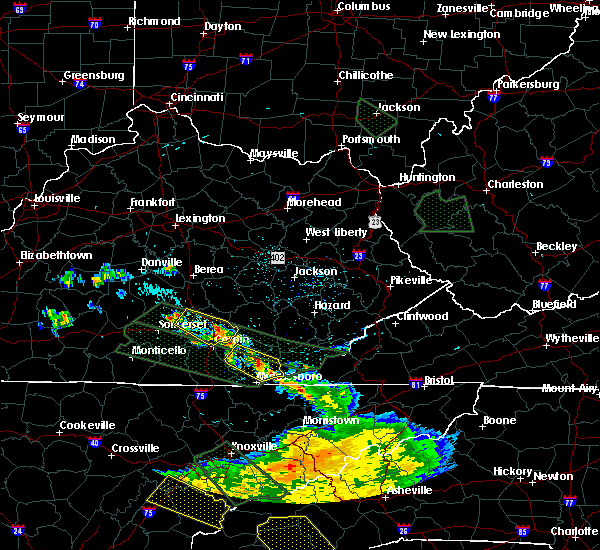 Radar Image for Severe Thunderstorms near London, KY at 7/14/2015 11:05 AM EDT