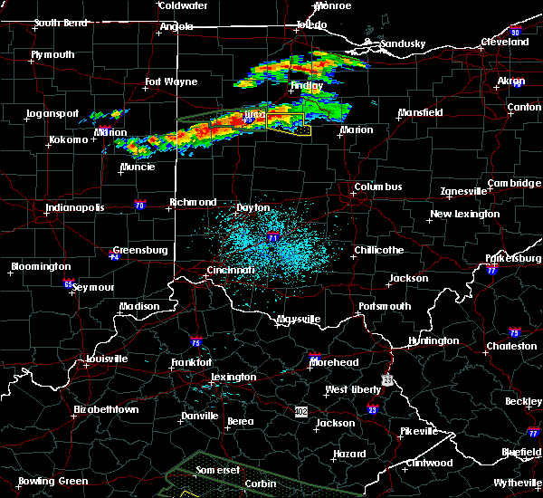 Radar Image for Severe Thunderstorms near Alger, OH at 7/14/2015 12:22 PM EDT