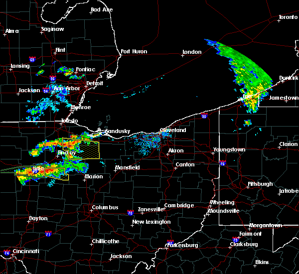 Radar Image for Severe Thunderstorms near Bradner, OH at 7/14/2015 12:26 PM EDT