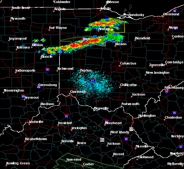 Radar Image for Severe Thunderstorms near McGuffey, OH at 7/14/2015 12:35 PM EDT