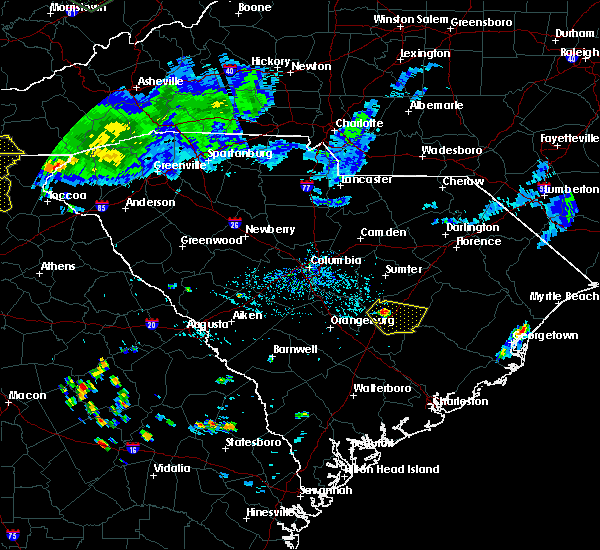 Radar Image for Severe Thunderstorms near Manning, SC at 7/14/2015 12:41 PM EDT