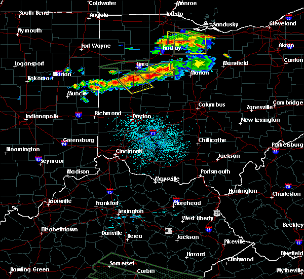 Radar Image for Severe Thunderstorms near Kenton, OH at 7/14/2015 12:52 PM EDT