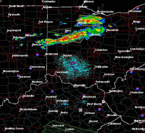 Radar Image for Severe Thunderstorms near Jackson Center, OH at 7/14/2015 12:58 PM EDT