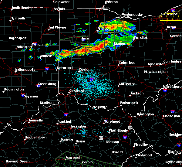 Radar Image for Severe Thunderstorms near Sidney, OH at 7/14/2015 1:07 PM EDT