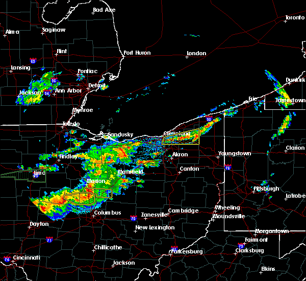 Radar Image for Severe Thunderstorms near Westfield Center, OH at 7/14/2015 1:39 PM EDT