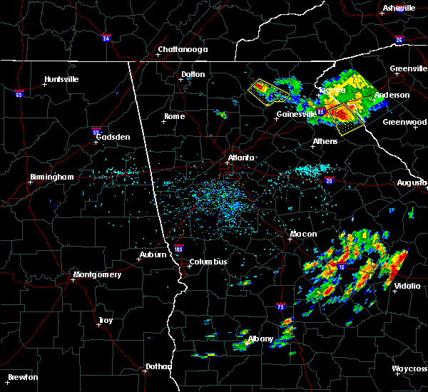 Radar Image for Severe Thunderstorms near Dahlonega, GA at 7/14/2015 1:50 PM EDT