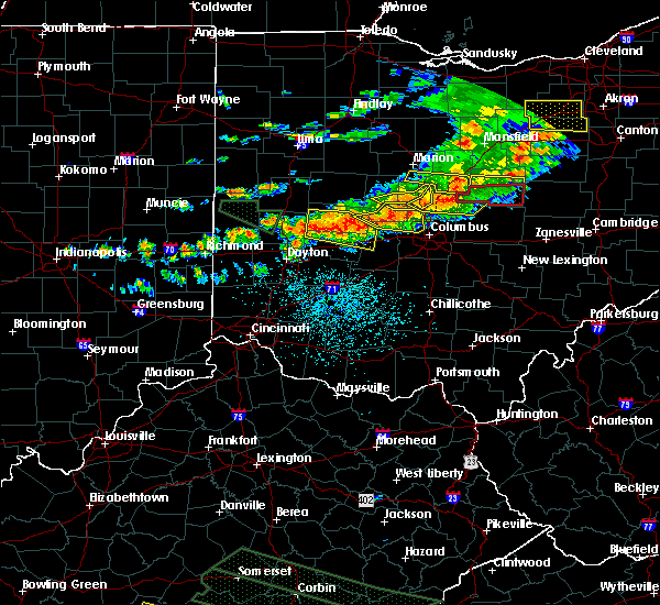Radar Image for Severe Thunderstorms near Lafayette, OH at 7/14/2015 2:04 PM EDT