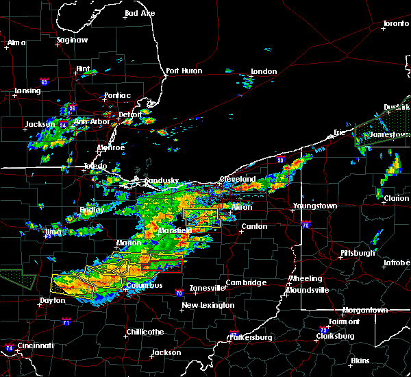 Radar Image for Severe Thunderstorms near Marengo, OH at 7/14/2015 2:03 PM EDT