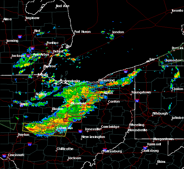 Radar Image for Severe Thunderstorms near Rittman, OH at 7/14/2015 2:09 PM EDT