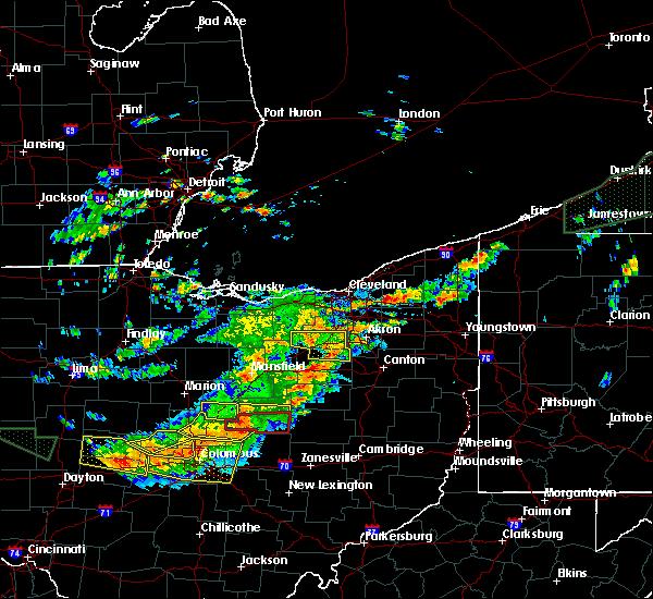 Radar Image for Severe Thunderstorms near Marengo, OH at 7/14/2015 2:12 PM EDT