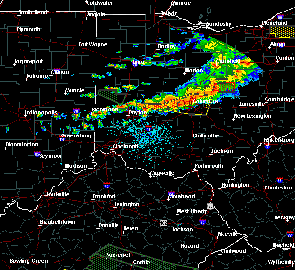Radar Image for Severe Thunderstorms near Springfield, OH at 7/14/2015 2:19 PM EDT