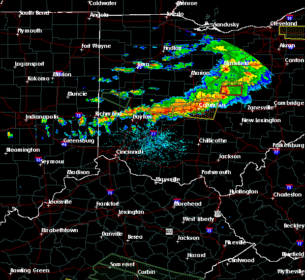 Radar Image for Severe Thunderstorms near Lafayette, OH at 7/14/2015 2:23 PM EDT