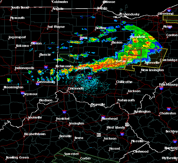 Radar Image for Severe Thunderstorms near Obetz, OH at 7/14/2015 2:33 PM EDT