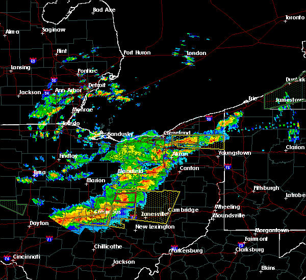 Radar Image for Severe Thunderstorms near Plainfield, OH at 7/14/2015 2:33 PM EDT