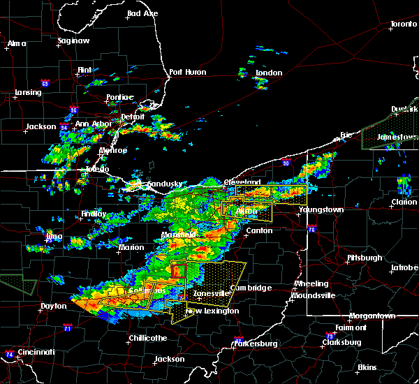 Radar Image for Severe Thunderstorms near South Canal, OH at 7/14/2015 2:39 PM EDT