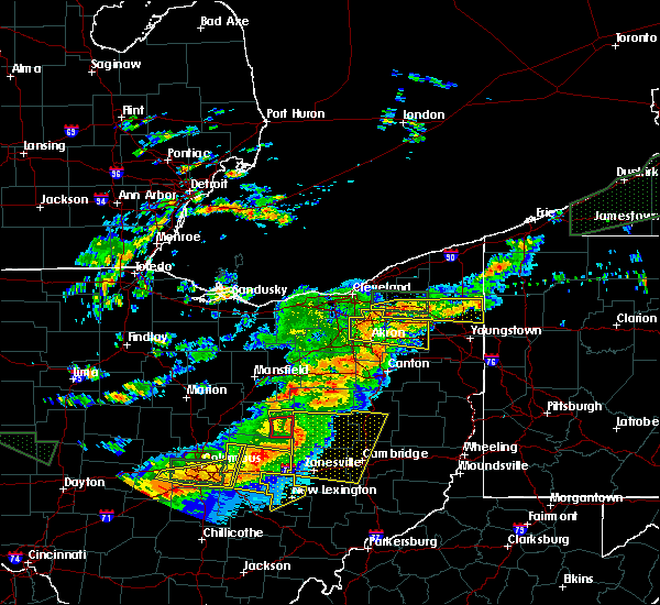 Radar Image for Severe Thunderstorms near Bedford Heights, OH at 7/14/2015 2:46 PM EDT