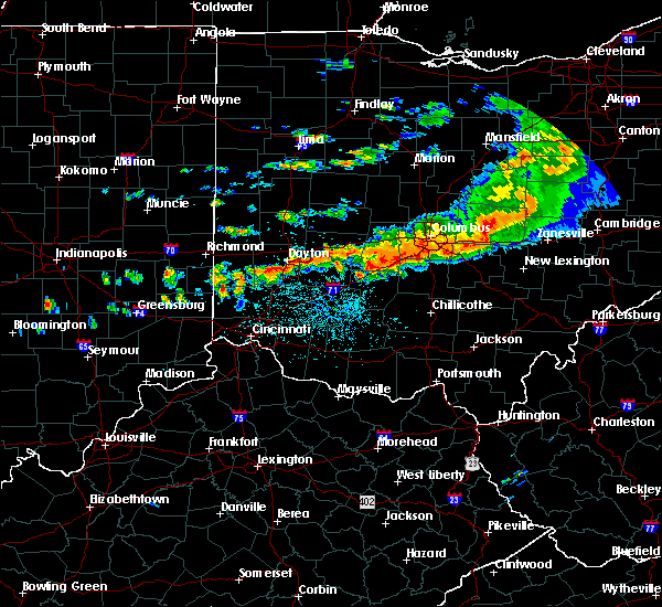 Radar Image for Severe Thunderstorms near Rushville, OH at 7/14/2015 2:50 PM EDT