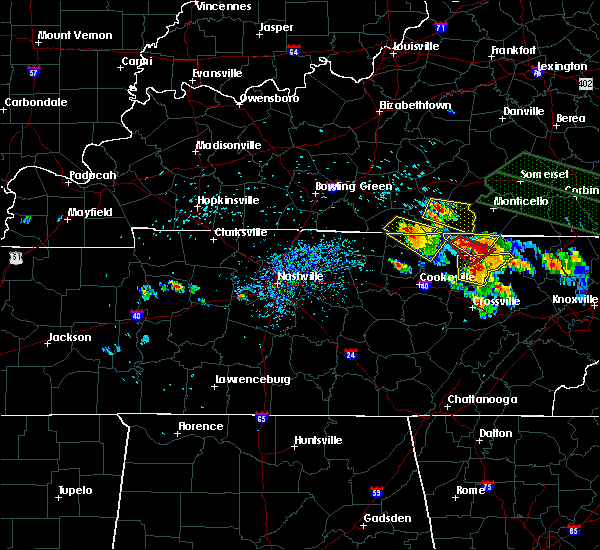 Radar Image for Severe Thunderstorms near Albany, KY at 7/14/2015 1:52 PM CDT