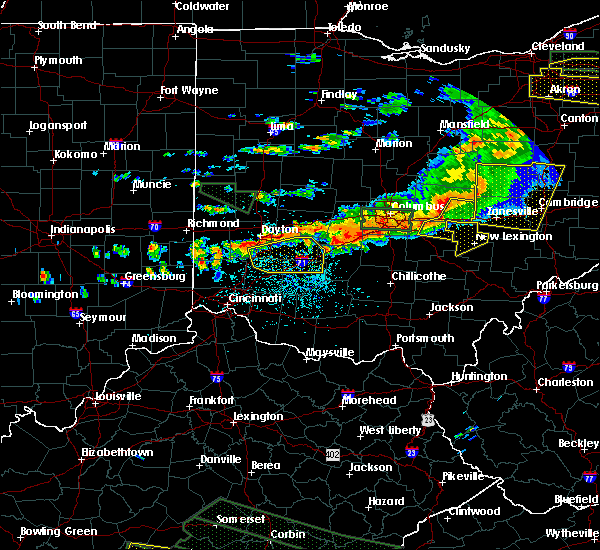 Radar Image for Severe Thunderstorms near Waynesville, OH at 7/14/2015 2:55 PM EDT