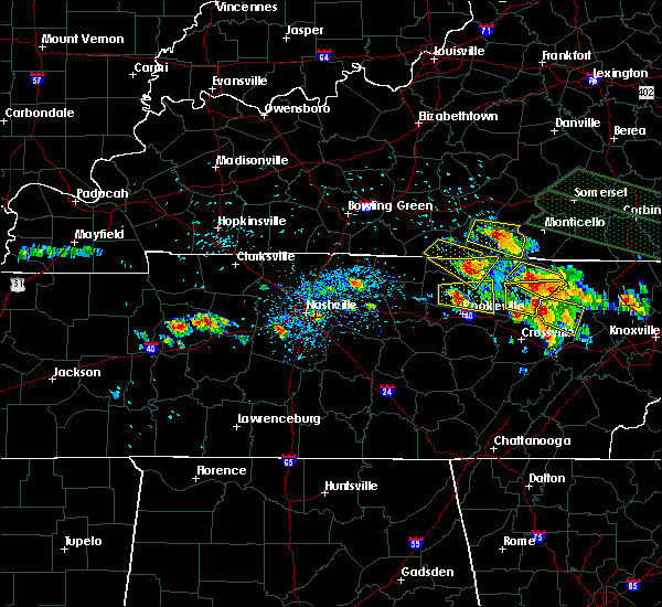 Radar Image for Severe Thunderstorms near Gamaliel, KY at 7/14/2015 2:05 PM CDT