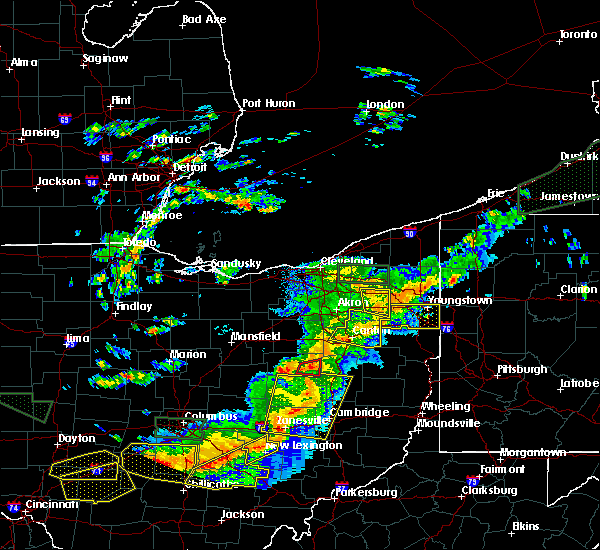 Radar Image for Severe Thunderstorms near Limaville, OH at 7/14/2015 3:17 PM EDT