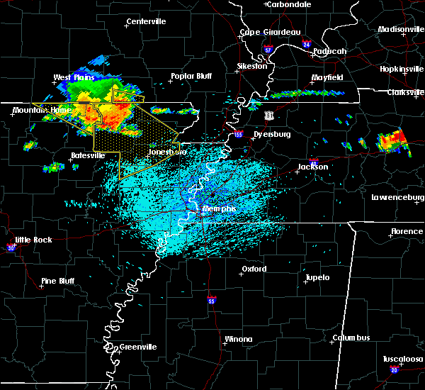Radar Image for Severe Thunderstorms near Strawberry, AR at 7/14/2015 2:20 PM CDT