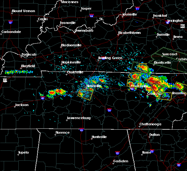 Radar Image for Severe Thunderstorms near Oak Hill, TN at 7/14/2015 2:19 PM CDT