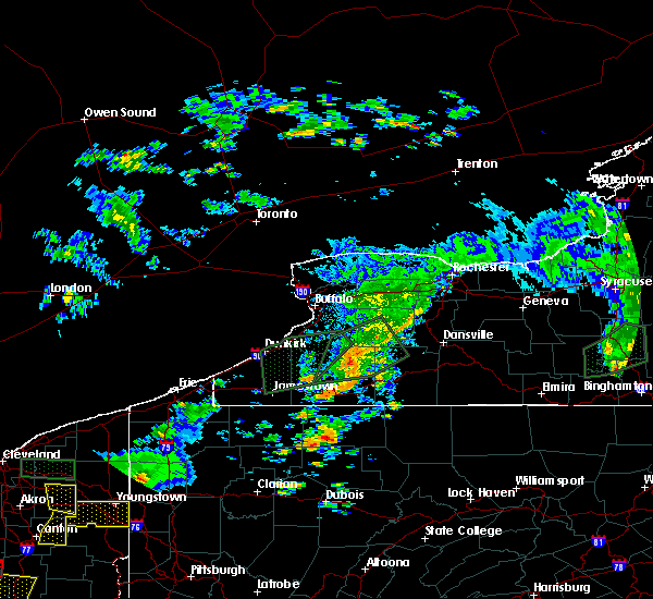 Radar Image for Severe Thunderstorms near Houghton, NY at 7/14/2015 3:26 PM EDT