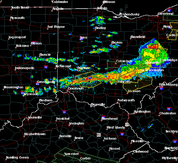 Radar Image for Severe Thunderstorms near Albany, OH at 7/14/2015 3:26 PM EDT