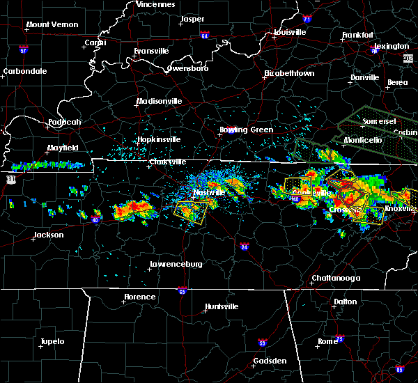 Radar Image for Severe Thunderstorms near Wrigley, TN at 7/14/2015 2:26 PM CDT