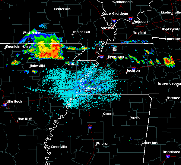 Radar Image for Severe Thunderstorms near Strawberry, AR at 7/14/2015 2:31 PM CDT