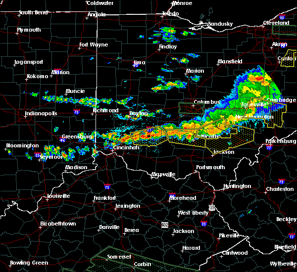 Radar Image for Severe Thunderstorms near Logan, OH at 7/14/2015 3:34 PM EDT