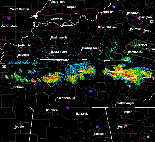Radar Image for Severe Thunderstorms near Forest Hills, TN at 7/14/2015 2:34 PM CDT