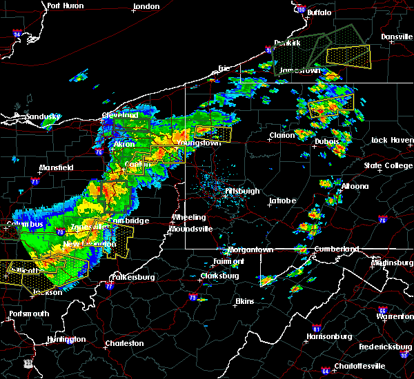 Radar Image for Severe Thunderstorms near Washingtonville, OH at 7/14/2015 3:45 PM EDT