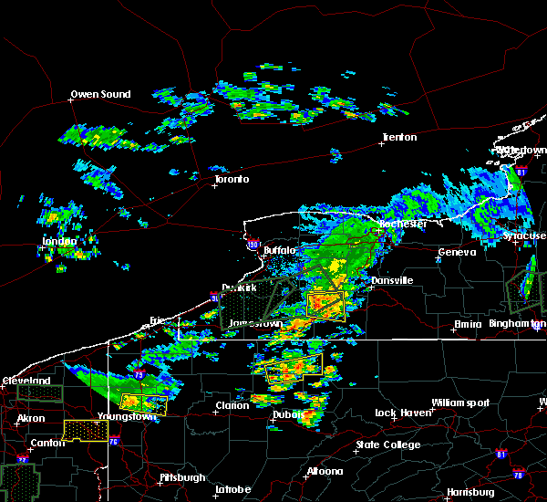 Radar Image for Severe Thunderstorms near Friendship, NY at 7/14/2015 3:52 PM EDT