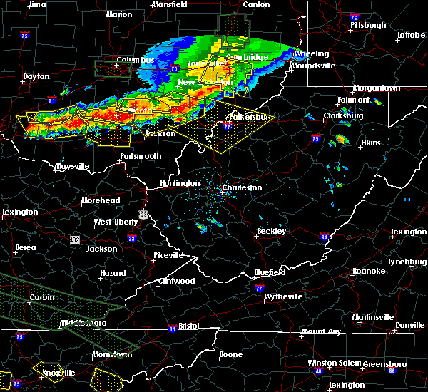Radar Image for Severe Thunderstorms near Ravenswood, WV at 7/14/2015 3:55 PM EDT