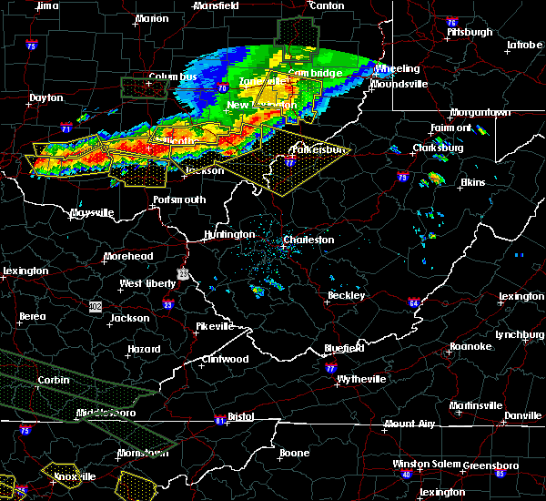 Radar Image for Severe Thunderstorms near Chesterhill, OH at 7/14/2015 3:58 PM EDT