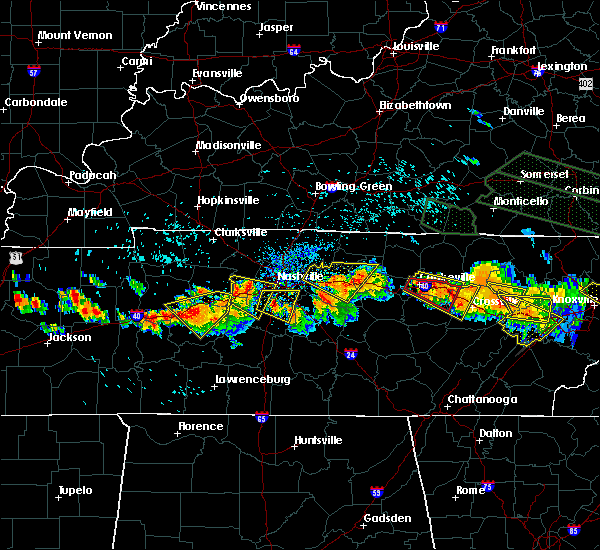 Radar Image for Severe Thunderstorms near Cookeville, TN at 7/14/2015 2:58 PM CDT