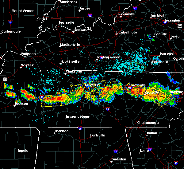 Radar Image for Severe Thunderstorms near Gordonsville, TN at 7/14/2015 3:05 PM CDT