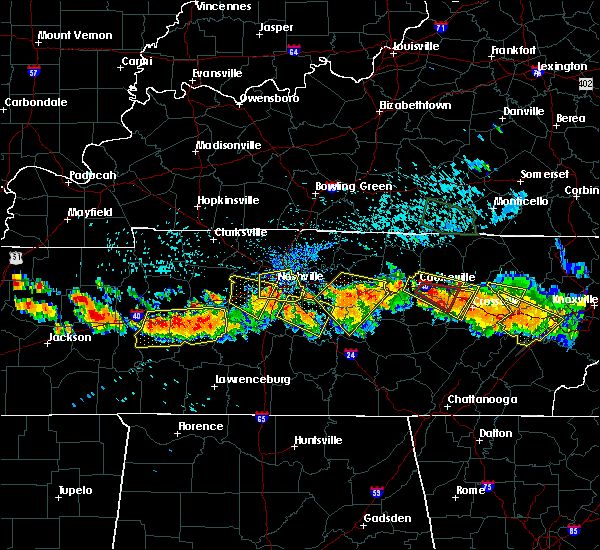 Radar Image for Severe Thunderstorms near Cookeville, TN at 7/14/2015 3:16 PM CDT