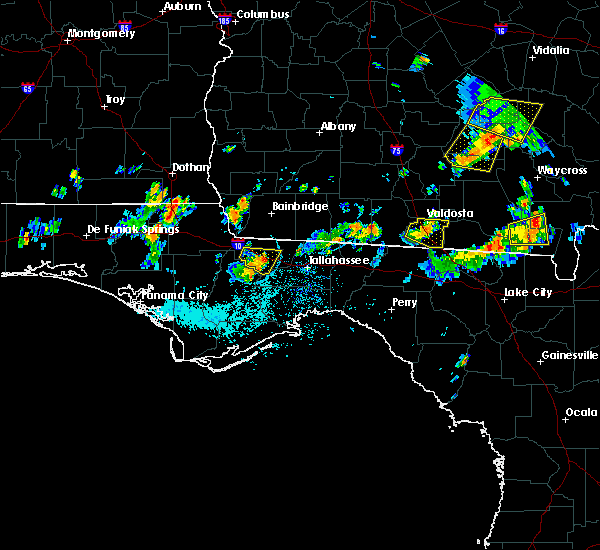 Radar Image for Severe Thunderstorms near Quincy, FL at 7/14/2015 4:19 PM EDT