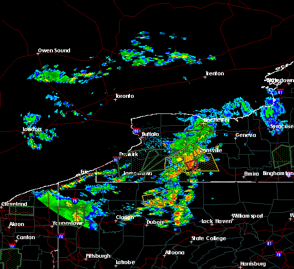 Radar Image for Severe Thunderstorms near Arkport, NY at 7/14/2015 4:28 PM EDT