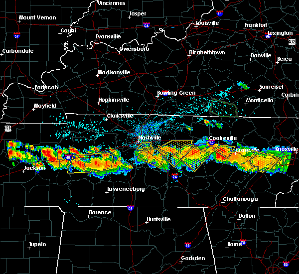 Radar Image for Severe Thunderstorms near Pleasant Hill, TN at 7/14/2015 3:28 PM CDT