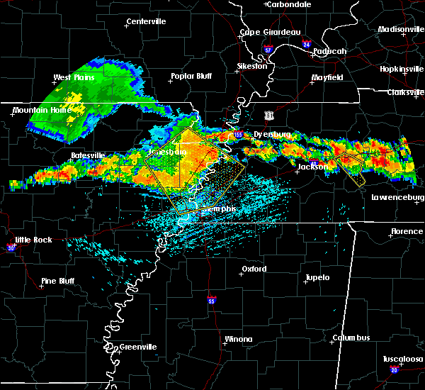 Radar Image for Severe Thunderstorms near West Memphis, AR at 7/14/2015 3:42 PM CDT