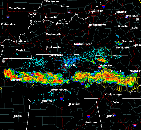 Radar Image for Severe Thunderstorms near Pleasant Hill, TN at 7/14/2015 3:58 PM CDT